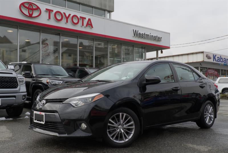 2015 Toyota Corolla LE Upgrade Package #RV18483A