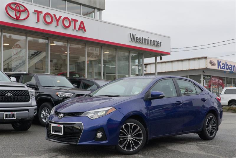 2015 Toyota Corolla S Technology Package #P6493T