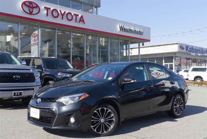 2015 Toyota Corolla S Technology Package #P6512T