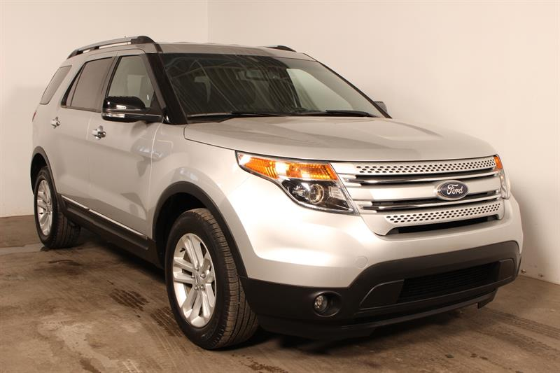Ford Explorer 2015 XLT ** CUIR + GPS ** 7 Pass. #81395a