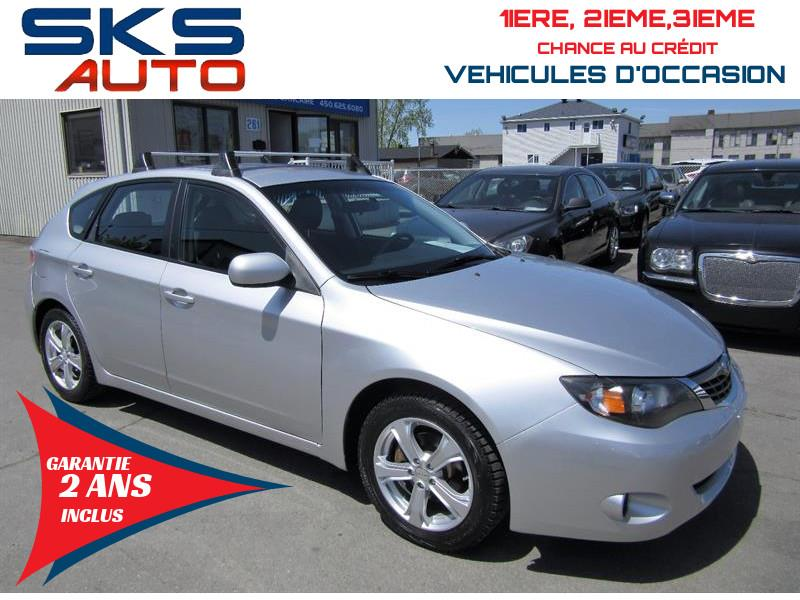 Subaru Impreza 2009 AWD (GARANTIE 2 ANS INCLUS) FINANCEMENT MAISON #SKS-4099-3