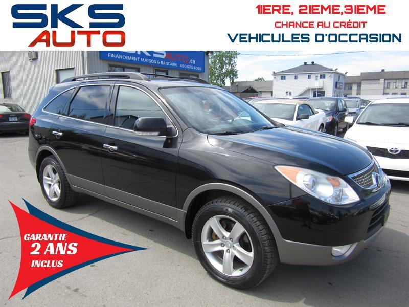 Hyundai Veracruz 2010 4x4 DVD (GARANTIE 2 ANS INCLUS) CUIR TOIT LIMITED  #SKS-4108-3