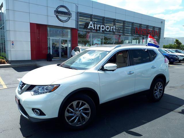 2015 Nissan Rogue SL LOADED,LEATHER,NAVI,ROOF,AL #P1725