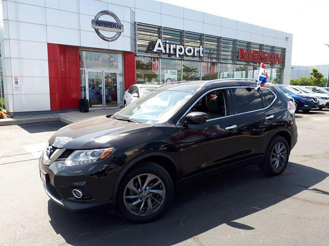 2016 Nissan Rogue SL LOADED,LEATHER,NAVI,ROOF,AL #P1726