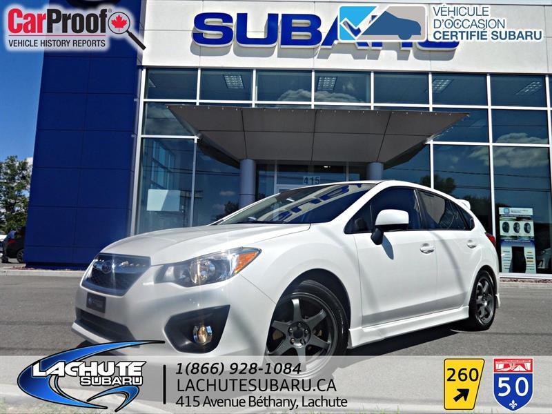 Subaru Impreza 2012 TOIT OUVRANT SPORT #18-331A