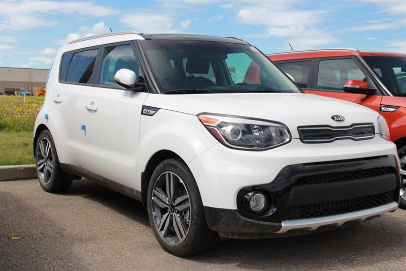 2018 kia soul ex premium new for sale in grande prairie at revolution kia. Black Bedroom Furniture Sets. Home Design Ideas