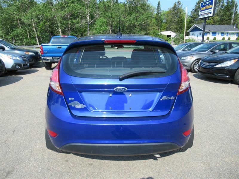 Ford Fiesta Hayon  Portes Se  Occasion A Vendre Quebec Chez Automobiles Jean Vezina