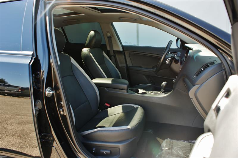 2013 Kia Optima SX Turbo   Navigation, Heated/Cooled Seats Used For Sale In  Penticton At Penticton Kia