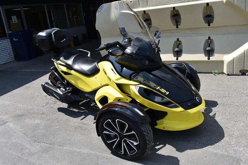 3 roues can am spyder spyder rs s sm5 2014 occasion vendre laval chez lajeunesse moto sport lt e. Black Bedroom Furniture Sets. Home Design Ideas