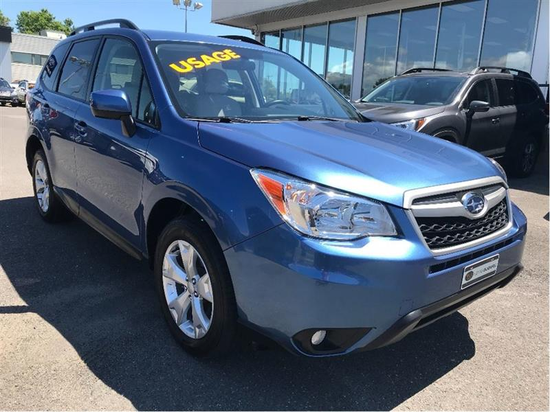 Subaru Forester 2015 2.5i Convenience Package (CVT) #15529A