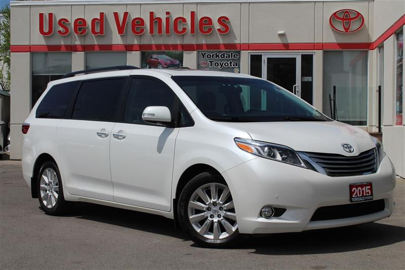 2015 Toyota Sienna LIMITED 7PASS-Nav  Sunroof  DVD  Alloys Leather  B #P7268