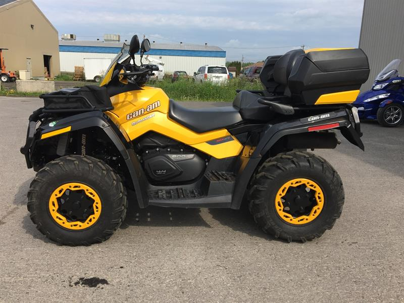 Can-am Outlander Max 800 2012