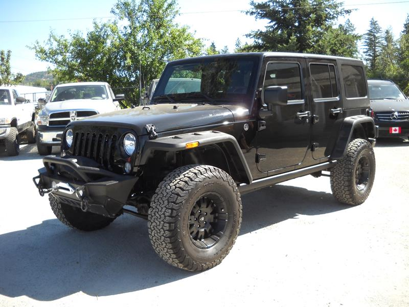 2014 Jeep Wrangler Unlimited .....SOLD..... #A8008