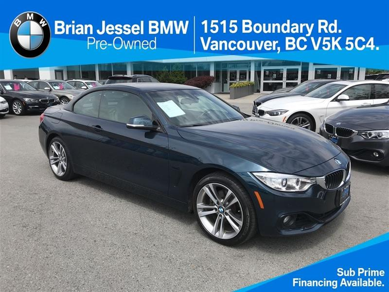 2014 BMW 4 Series 428i xDrive Cabriolet #NKR69076