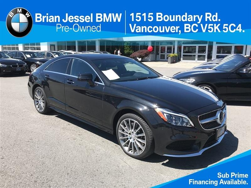 2015 Mercedes-Benz CLS-Class CLS550 4MATIC Coupe #BP651030