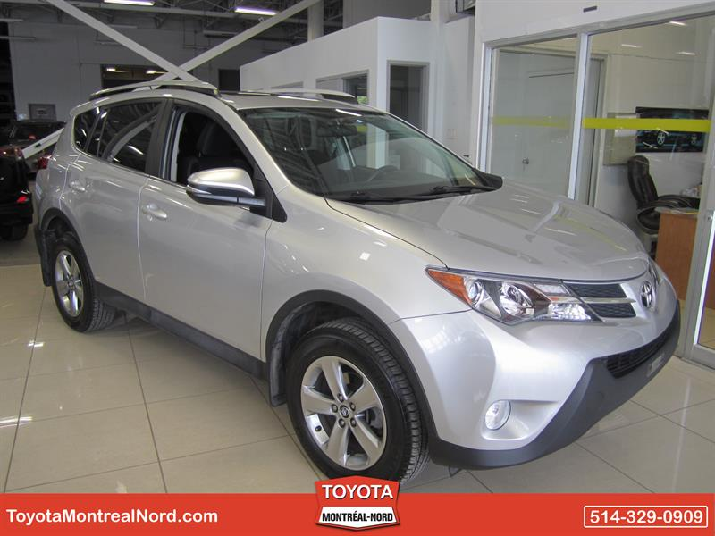 Toyota RAV4 2015 XLE AWD Toit+Mags #3276 AT