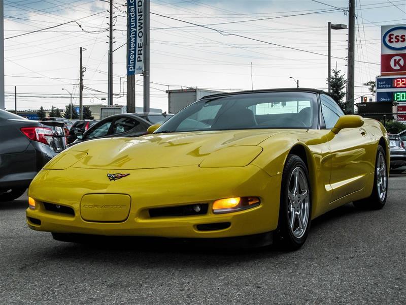 2002 Chevrolet Corvette #33211