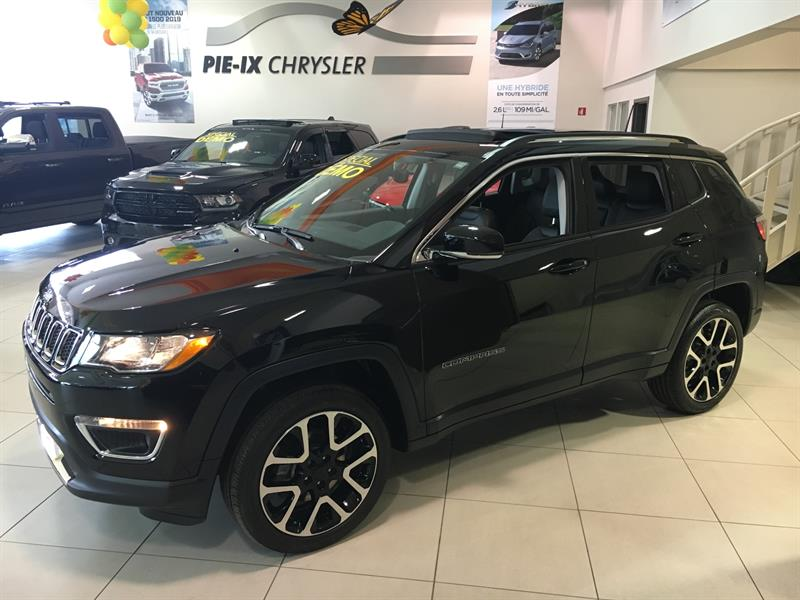 Jeep Compass 2018 Limited 4x4,DEMO #C18104