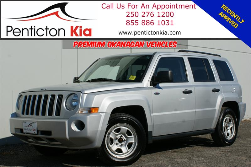 2008 Jeep Patriot Sport - Heated Seats, Air Conditioning, 4WD #18R12A