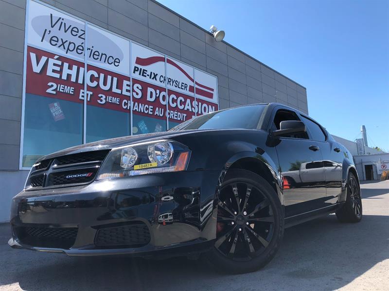 Dodge Avenger 2013 SXT+BLACKTOP+MAGS+A/C+GR.ELEC+WOW! #18487A