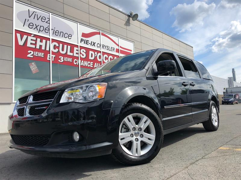 Dodge Grand Caravan 2016 4dr Wgn Crew+MAGS+GR.ELEC+A/C *3ZONE+WOW! #UD4692