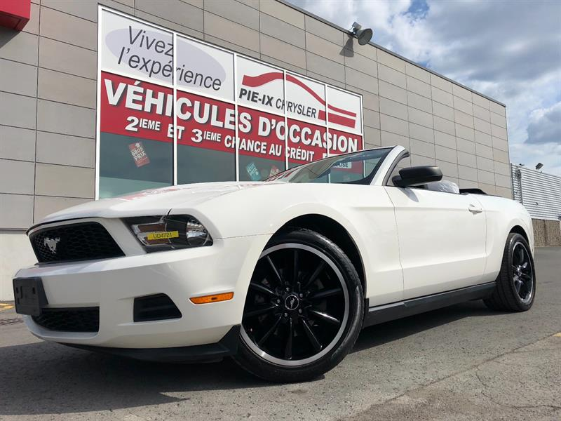 Ford Mustang 2012 2dr Conv V6 Premium+MAGS+CUIR+WOW! #UD4721