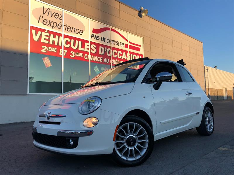Fiat 500c 2014 2dr Conv Lounge+MAGS+CUIR+WOW! #UD4733