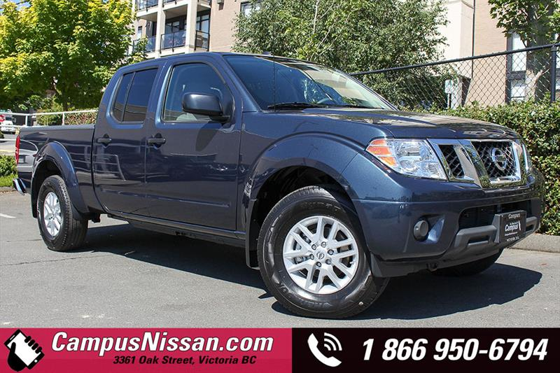 2018 Nissan Frontier Crew Cab Bed 4x4 Auto #D8-T101