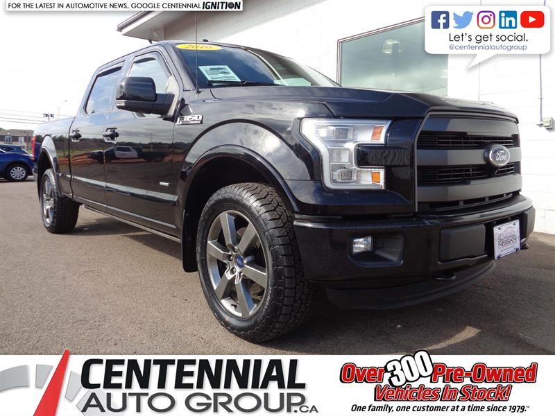 2016 Ford F-150 Lariat | 4x4 | SuperCrew | Leather | Navi #18-228A