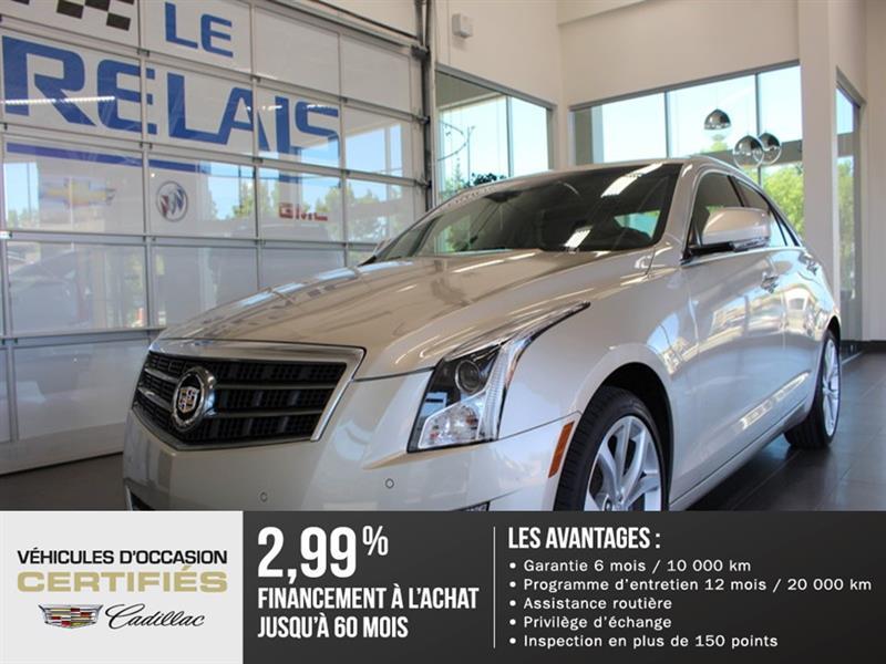 Cadillac ATS 2013  Performance - AWD - Nav #82096A