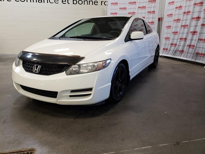 Honda Civic Cpe 2010 * LX * AIR CLIMATISÉE * GR ÉLECTRIQUES * TOIT OUVR #80715A-60