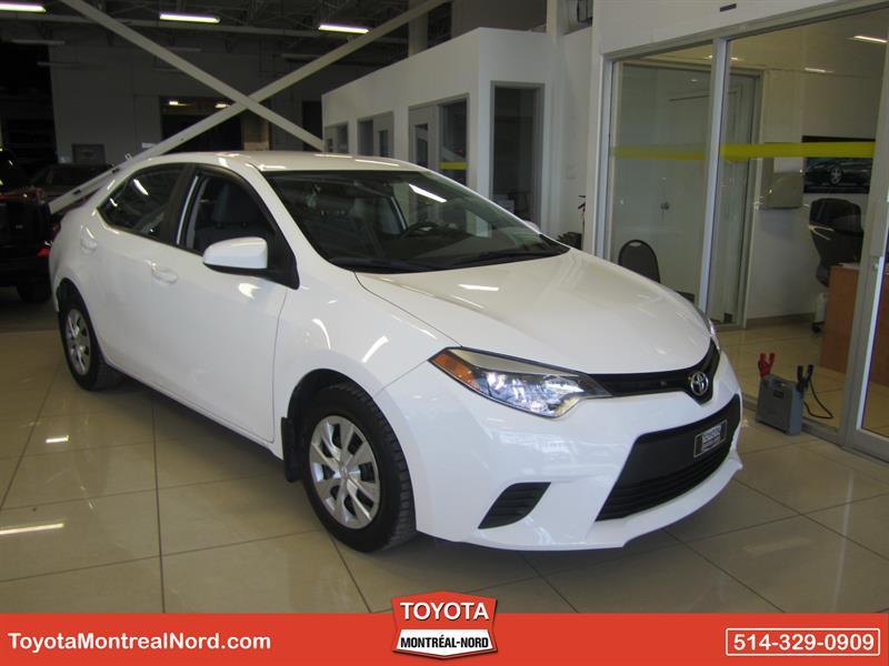 Toyota Corolla 2014 CE/Aut/Ac/Vitres,Portes,Miroirs Electriques #3192 AT
