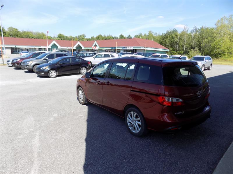 2012 Mazda MAZDA5 GS AUTOMATIQUE BAS KM Used for sale in Grenville
