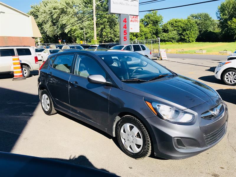 Hyundai Accent 2012 HB GLS-Auto-Air-Toute Equipee-Jamais Accidentée #94749-2