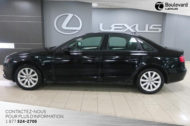 Audi A4 2011 PREMIUM AWD CUIR TOIT #13714A