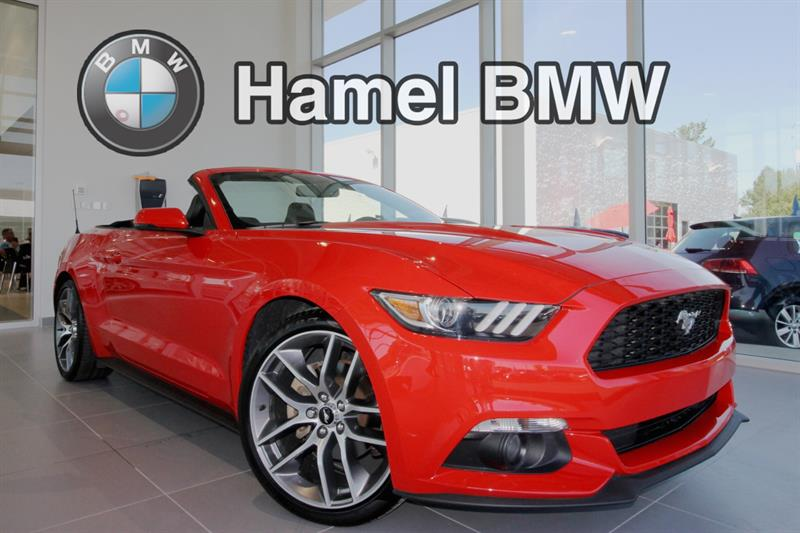 2015 Ford Mustang 2dr Conv EcoBoost Premium #18-040NA