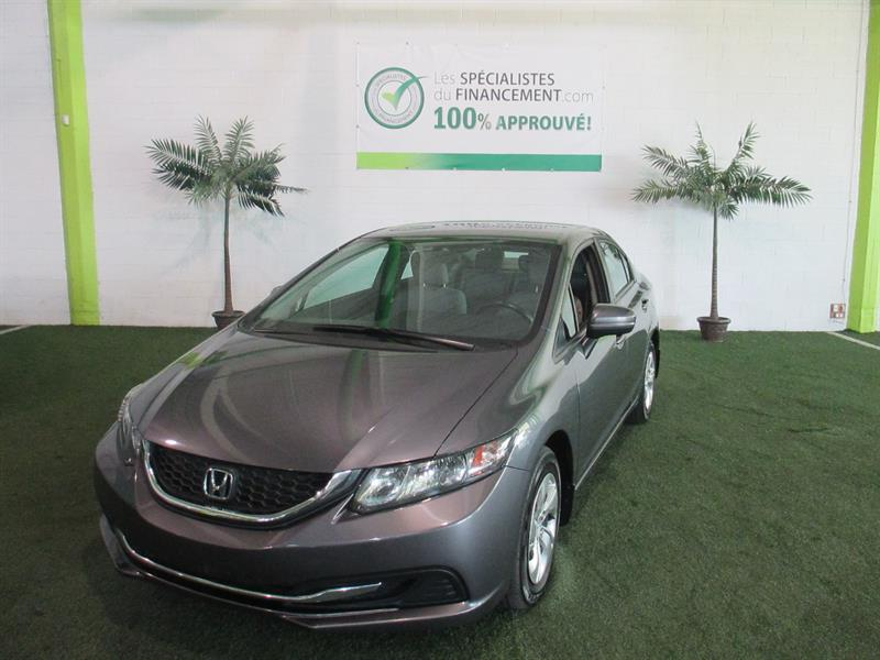 Honda Civic Sedan 2014 4dr CVT LX #2286-06