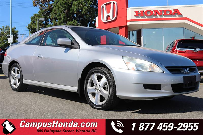 2006 Honda Accord Cpe EX V6 Manual Sunroof #17-0545A