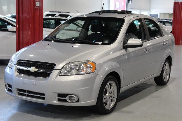 Chevrolet Aveo 2010 LT 4D Sedan #0000001016