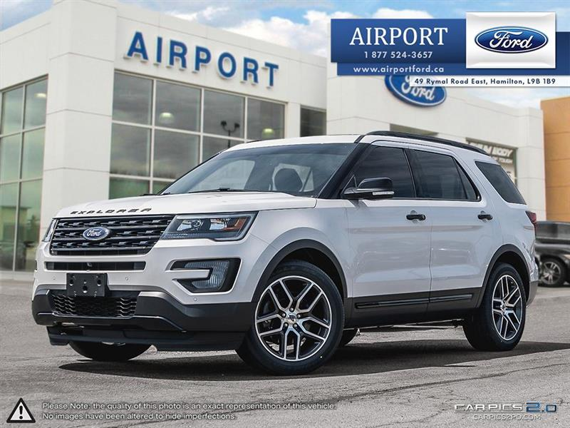 2016 Ford Explorer Sport 4WD with only 66,851 kms #1HL049