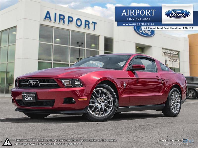 2012 Ford Mustang V6 Premium Coupe with only 29,333 kms #AHL032