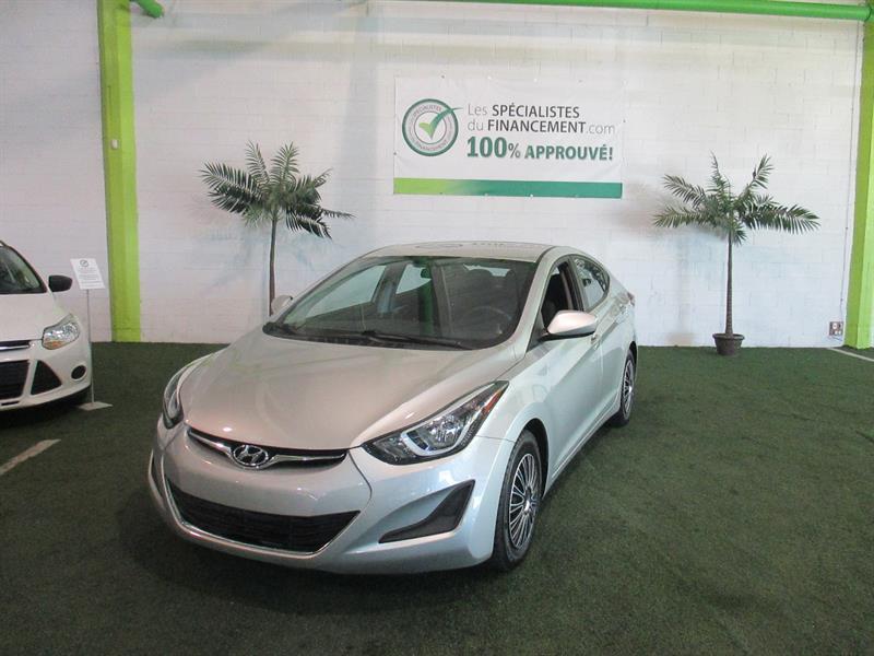 Hyundai Elantra 2015 4dr Sdn #2354-07