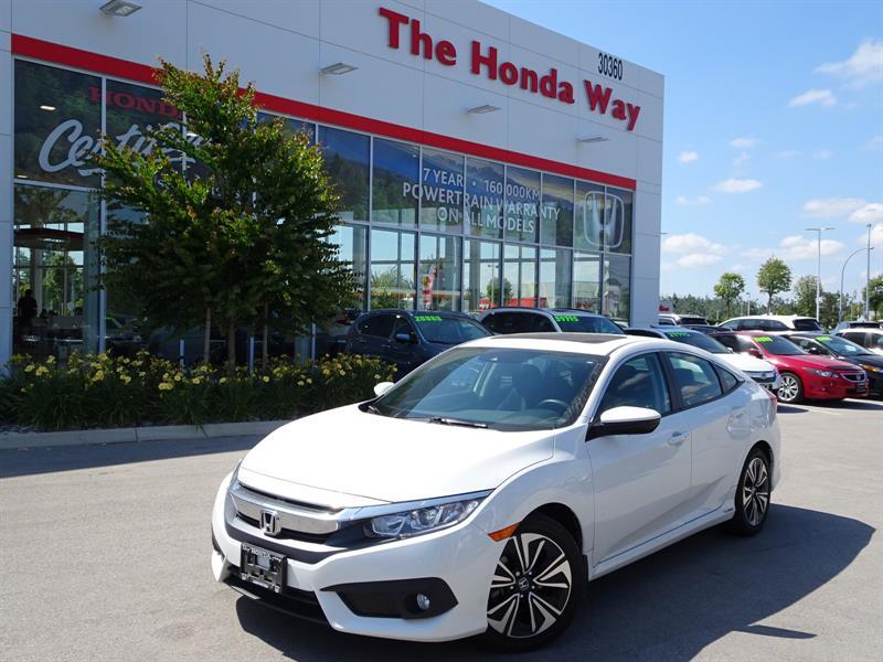 2016 Honda Civic EX-T Honda Sensing Sedan CVT 1.5L turbocharged war #P5202