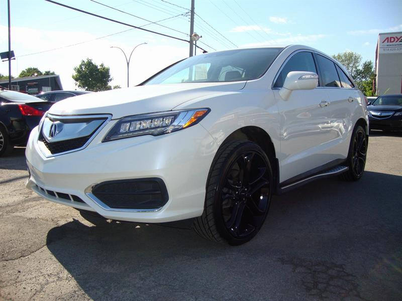 Acura RDX 2016 ADVANCE NAV-TECH PCKG 22MAGS!!! #S16