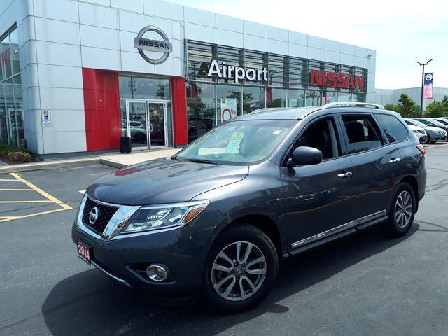 2014 Nissan Pathfinder SL LOADED,LEATHER.ALLY,PW,PL,A #P1679