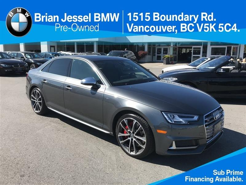 2018 Audi S4 3.0T Technik quattro 8sp Tiptronic (SOO) #BP6870