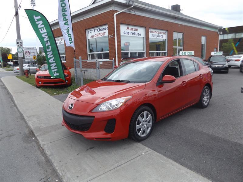 Mazda MAZDA3 2013 4dr Sdn GX #2288-06