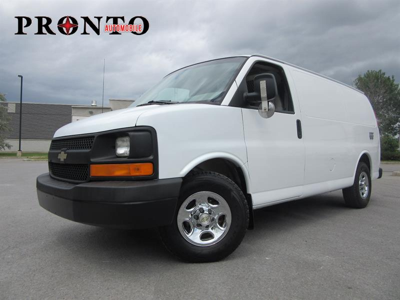 Chevrolet Express Cargo Van 2007 RWD 1500 135 ** Bas kilo! ** Voir équipement! ** #3680