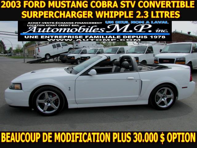 Ford Mustang 2003 Convertible SVT Cobra BEAUCOUP DE MODIFICATION #6345