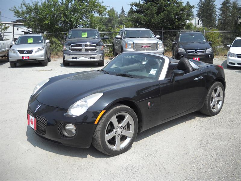 2007 Pontiac Solstice GXP LOW KM!....SOLD.... #N0075-1